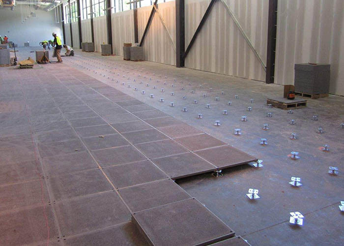 Fireproof Raised Concrete Floor Modular Raised Flooring In 500 500mm