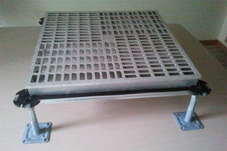 Anti - Corrosion Aluminum Raised Floor Die Casting 1000 LB 600×600 Mm