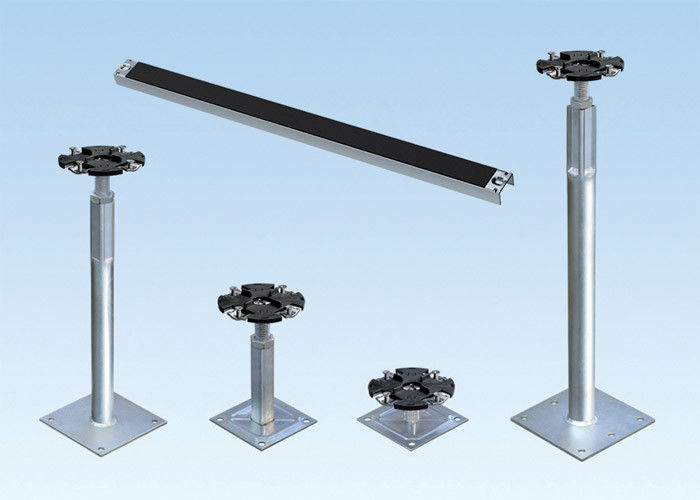 Steel Raised Floor Accessories Pedestal Raised Floor Stringers Seismic Force - Resistant